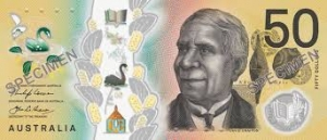 David Unaipon on the $50 note