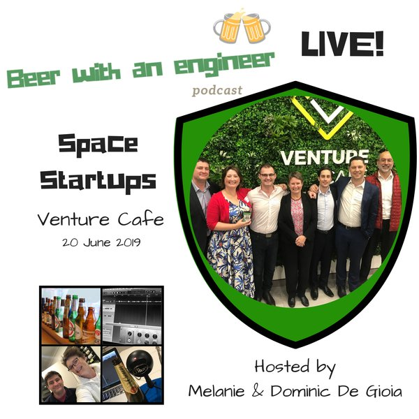 Live Podcast Space Startup Panel Discussion